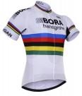 Cyklistický dres PRO TEAM BORA mistr světa 2017